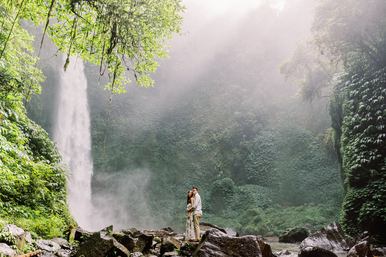 S&Y: Batur Volcano and Nungnung Waterfall Prewedding - Bali Prewedding Photographer 14