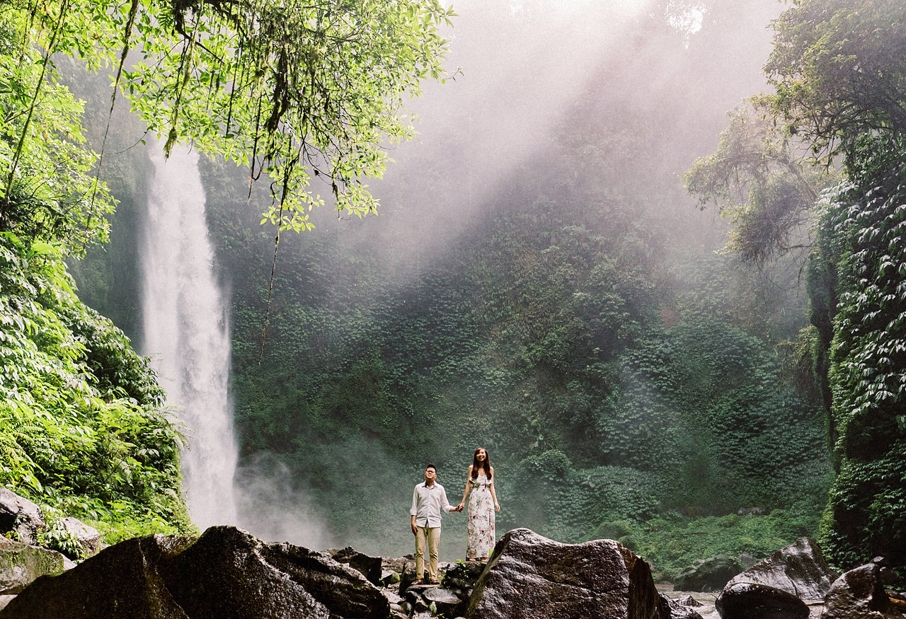 S&Y: Batur Volcano and Nungnung Waterfall Prewedding - Bali Prewedding Photographer 15