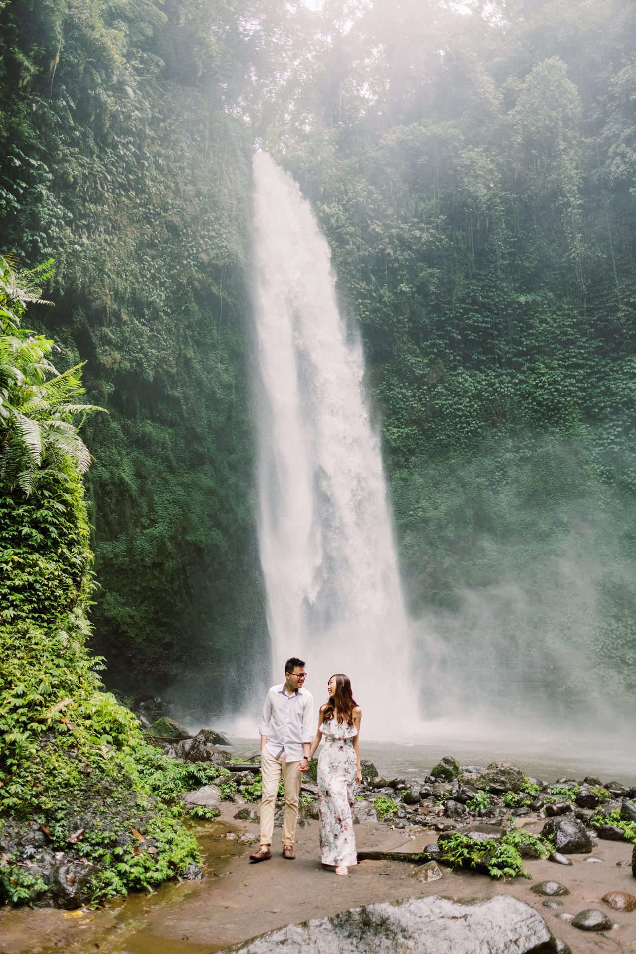 S&Y: Batur Volcano and Nungnung Waterfall Prewedding - Bali Prewedding Photographer 16
