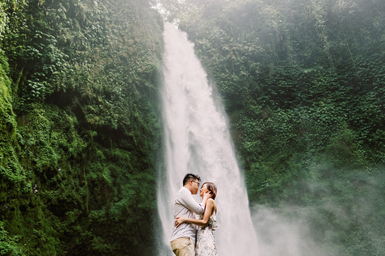 S&Y: Batur Volcano and Nungnung Waterfall Prewedding - Bali Prewedding Photographer 17