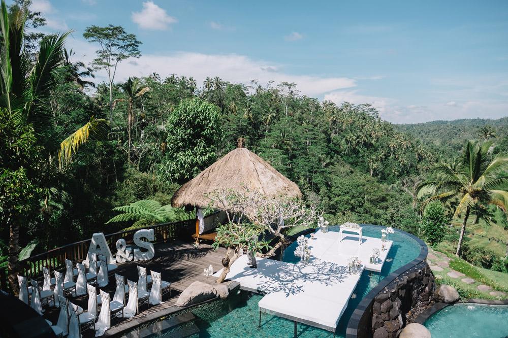 Bali Wedding Photography in Ubud of Sarah & Anthony 2