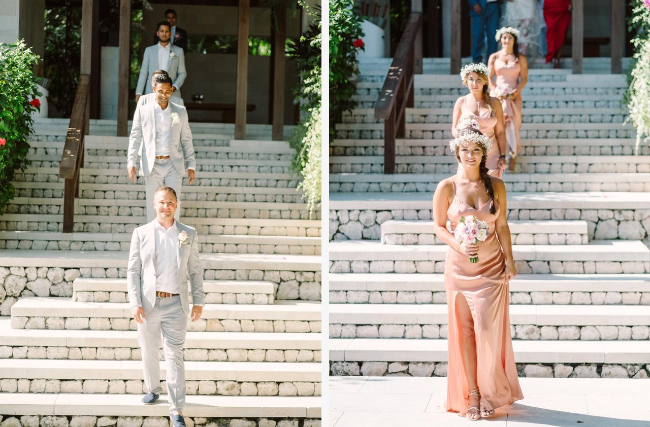 T & D: Destination Wedding at Tirtha Uluwatu Bali 11