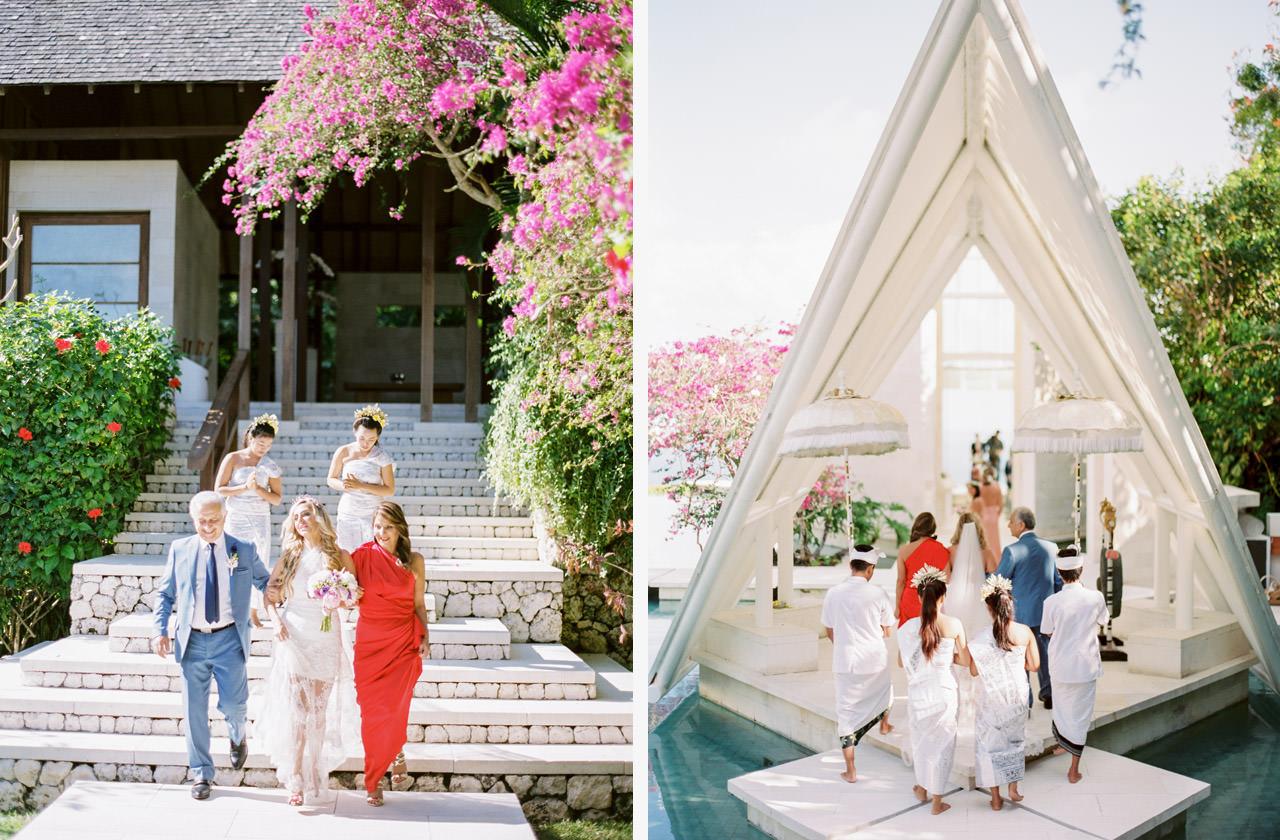 T & D: Destination Wedding at Tirtha Uluwatu Bali 14