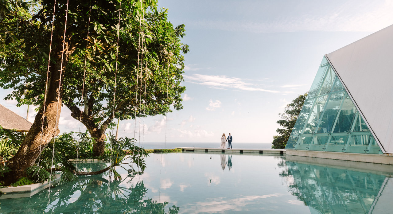 T & D: Destination Wedding at Tirtha Uluwatu Bali 27