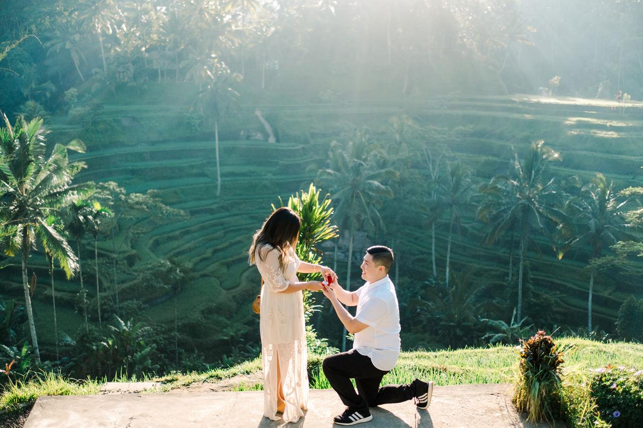 T&J: A Gorgeous Bali Sunrise Surprise Proposal 3