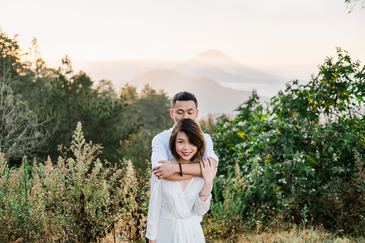 T&K: Bali Prewedding Photo Session in The Mountains 3