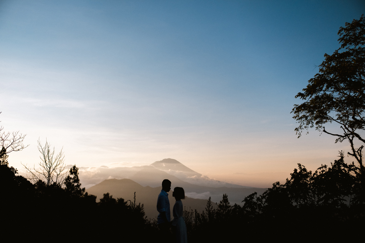 T&K: Bali Prewedding Photo Session in The Mountains 5