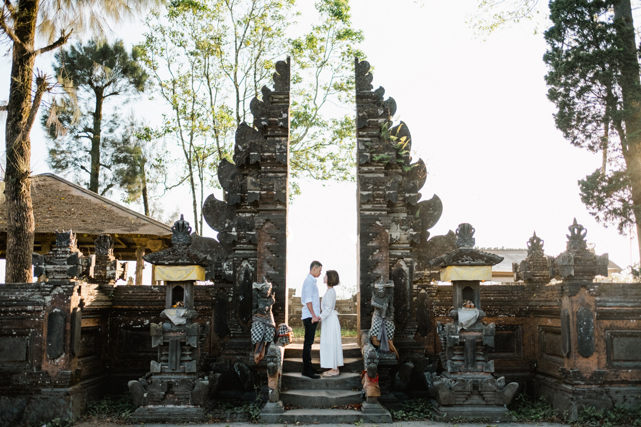 T&K: Bali Prewedding Photo Session in The Mountains 6
