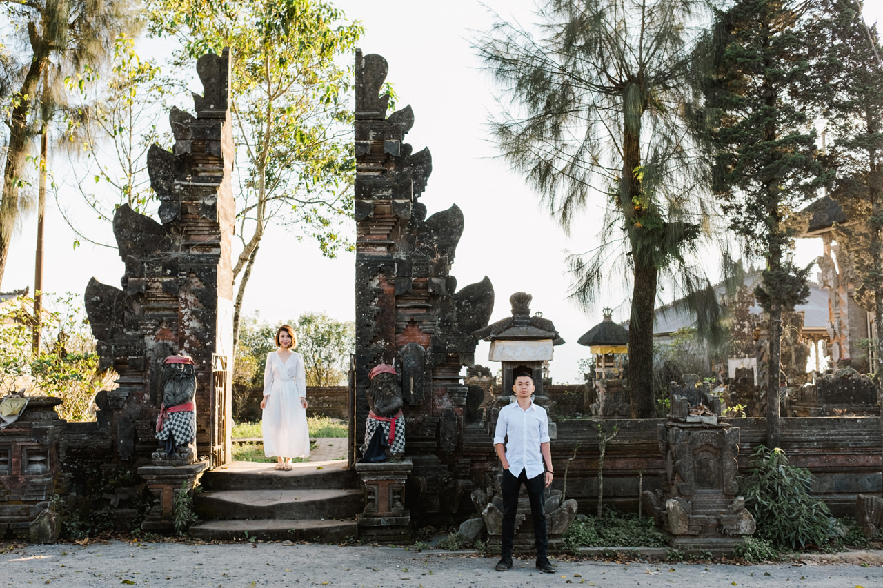 T&K: Bali Prewedding Photo Session in The Mountains7