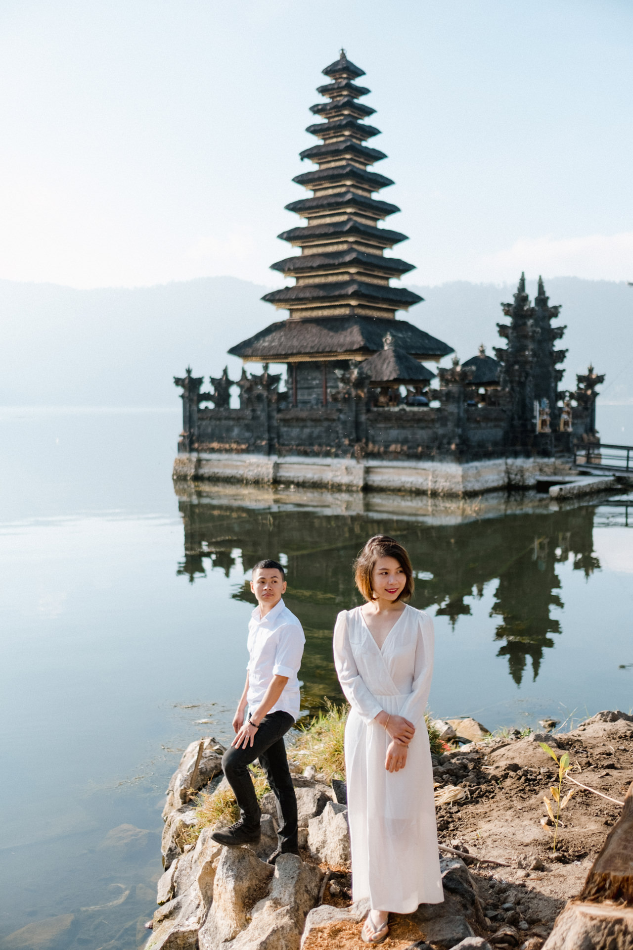 T&K: Bali Prewedding Photo Session in The Mountains 9