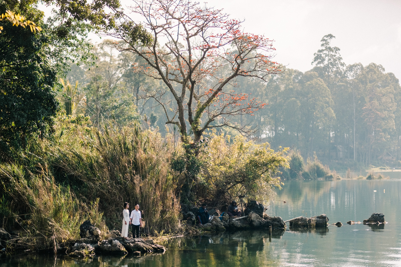 T&K: Bali Prewedding Photo Session in The Mountains 11