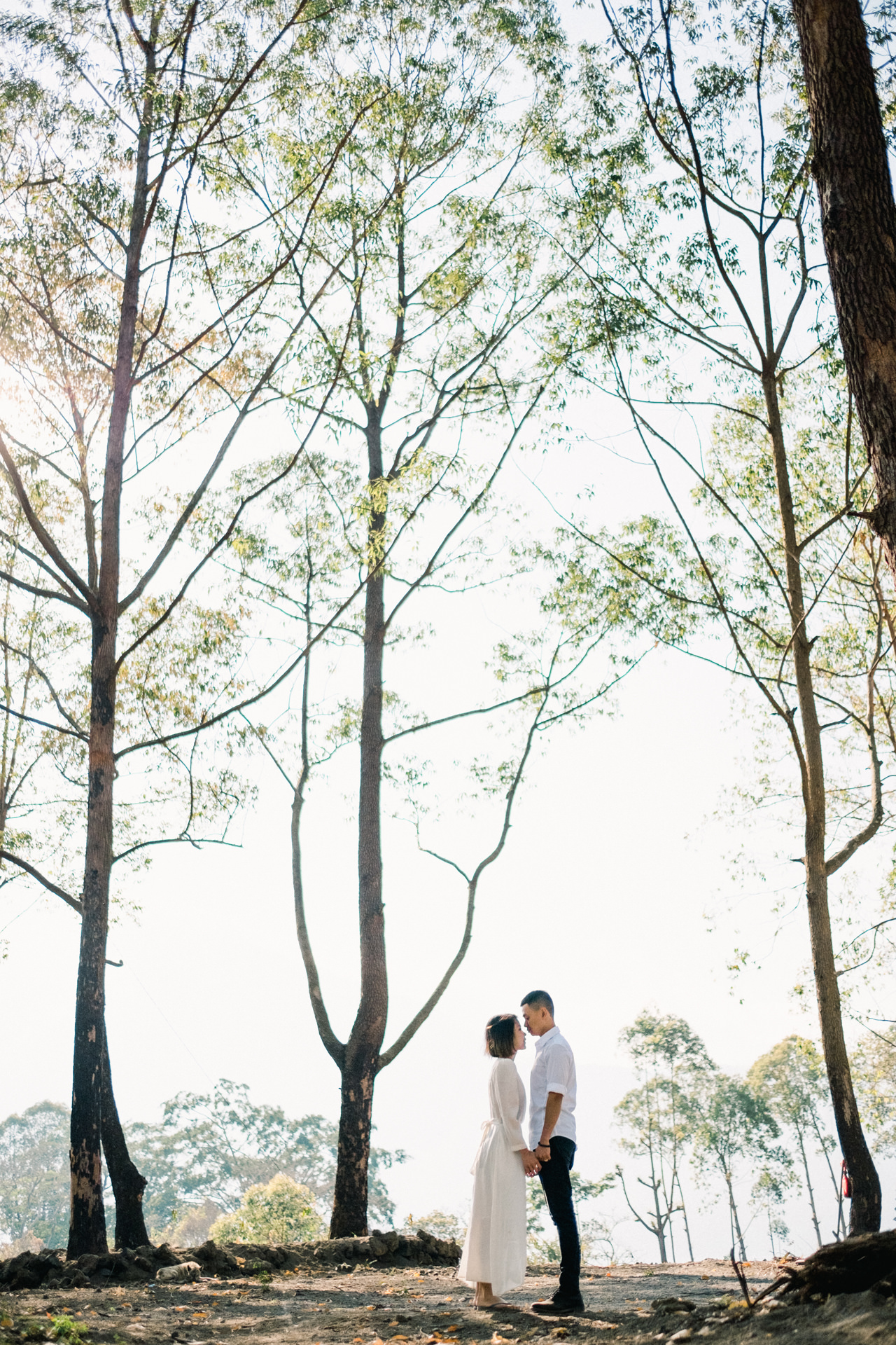 T&K: Bali Prewedding Photo Session in The Mountains 12