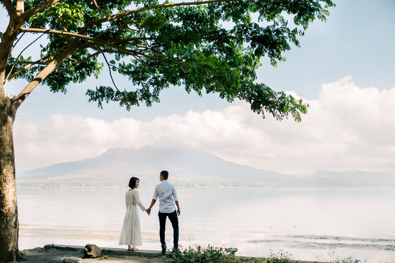 T&K: Bali Prewedding Photo Session in The Mountains 14