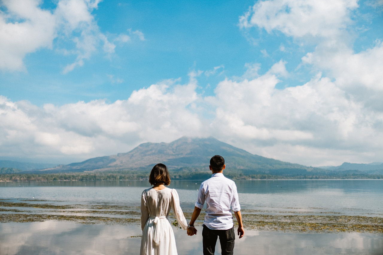 T&K: Bali Prewedding Photo Session in The Mountains 15