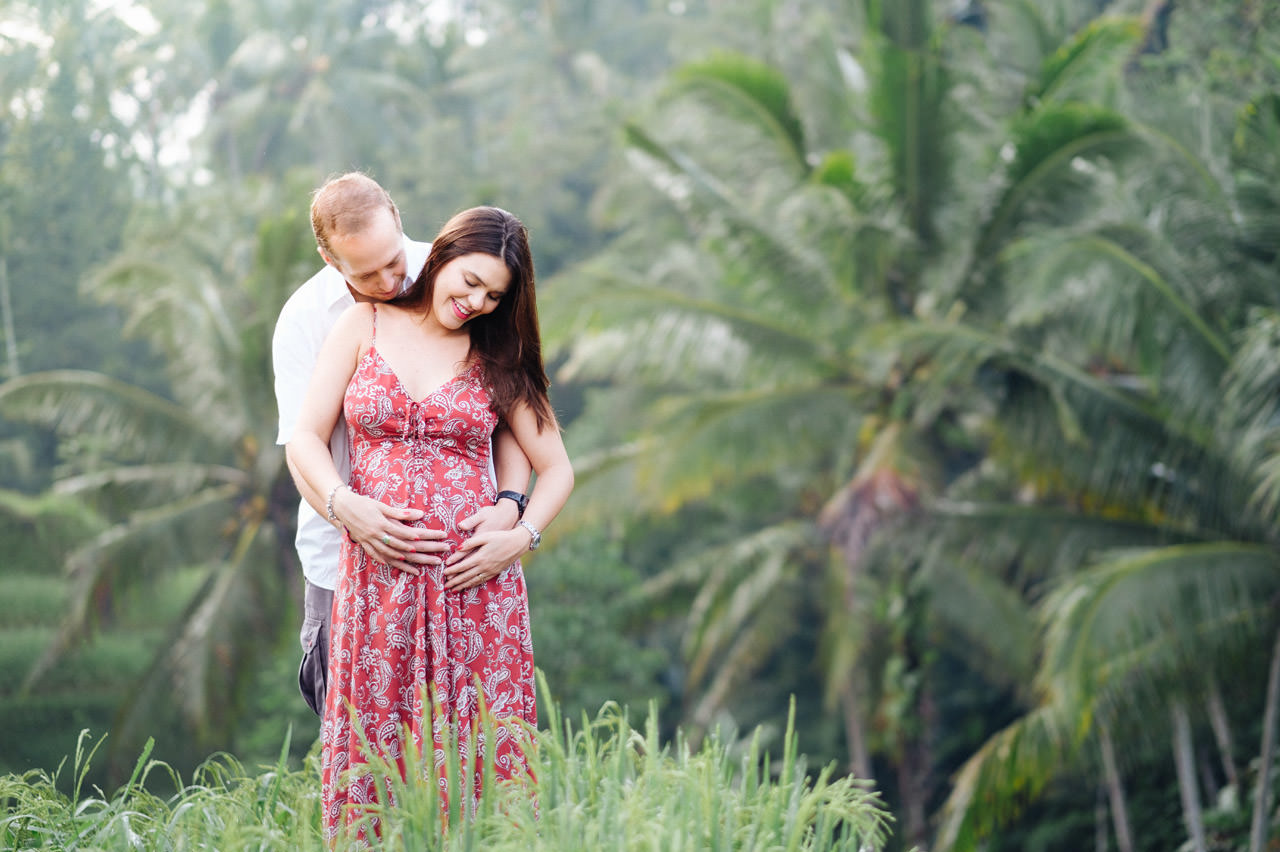 T&P: Pregnancy photography in Ubud Bali 2