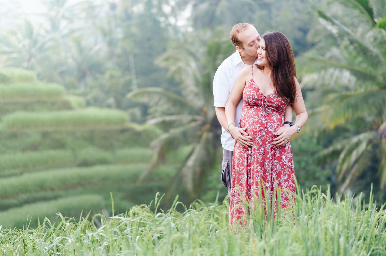 T&P: Pregnancy photography in Ubud Bali 3
