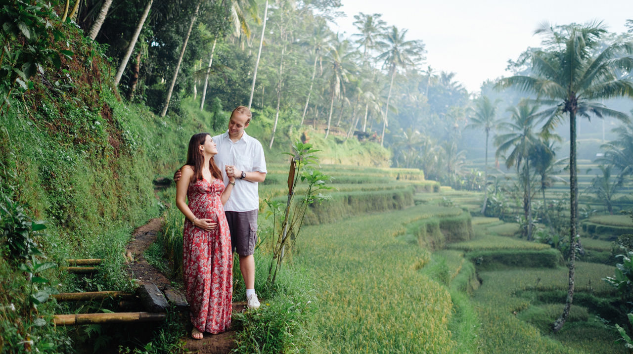 Pregnancy photography in Ubud Bali 12