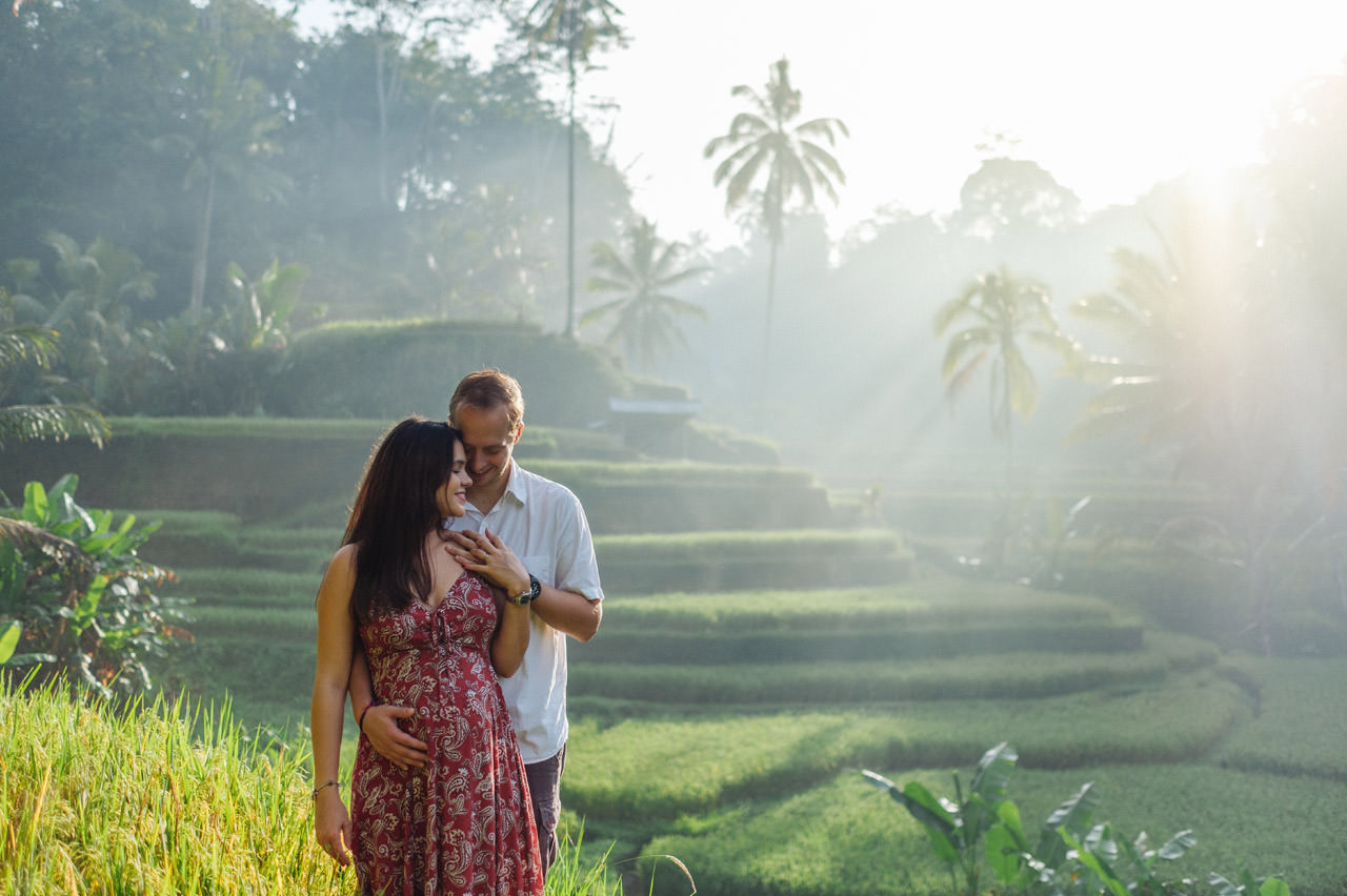 Pregnancy photography in Ubud Bali 15