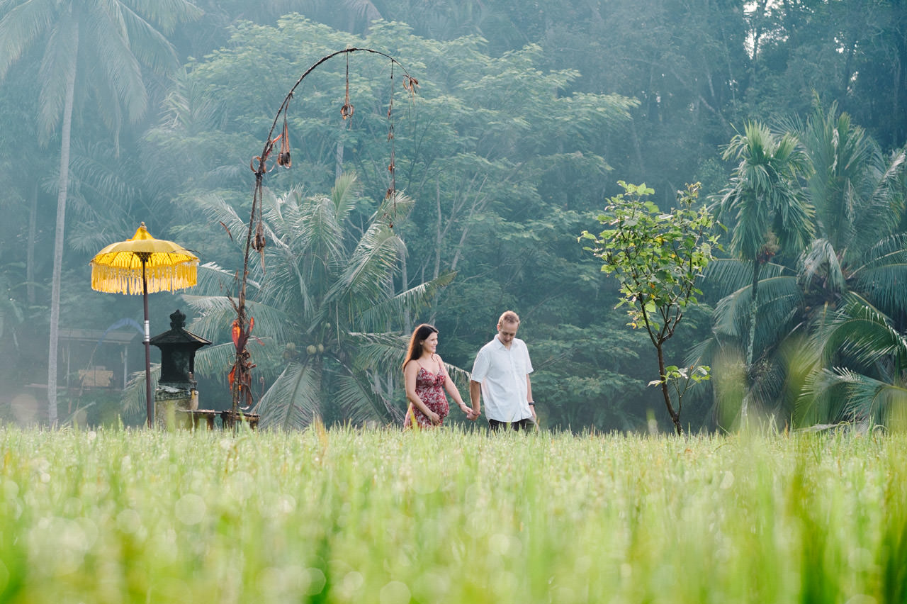 Pregnancy photography in Ubud Bali 25