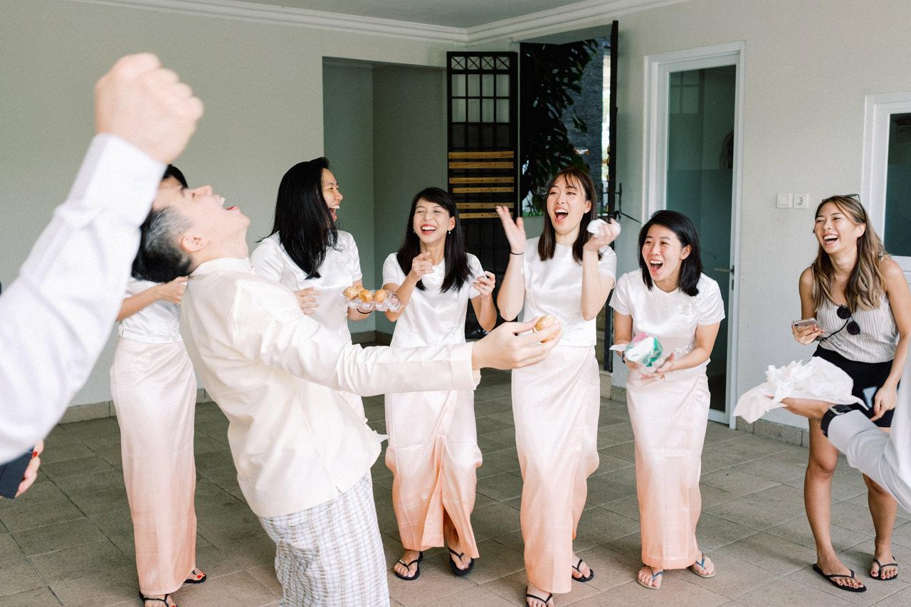 Bali Wedding Gate Crash Idea