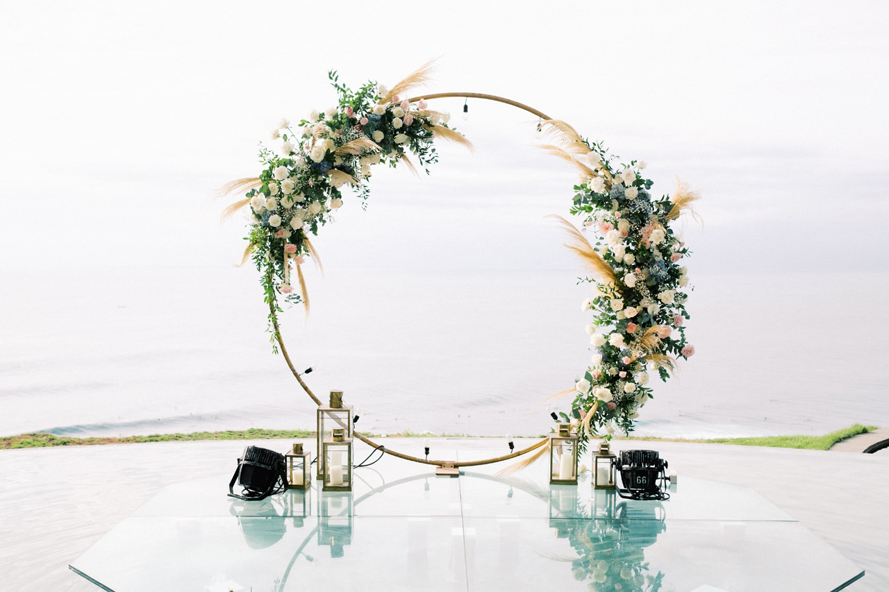 Bali Wedding Rounded Arch