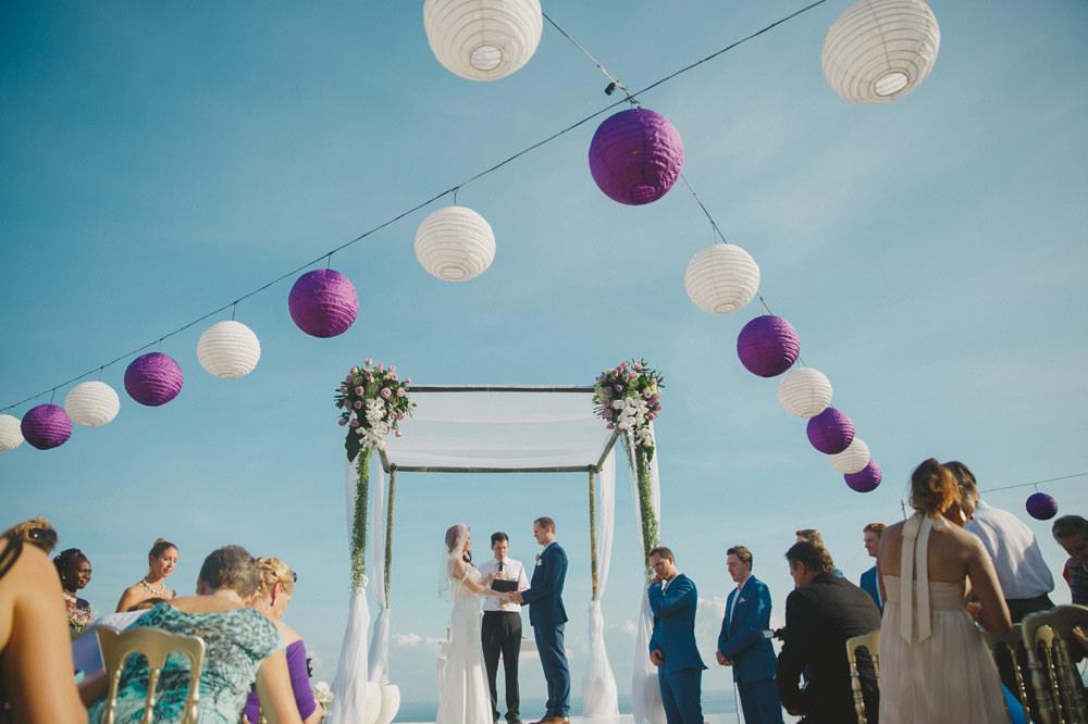Tylea & Stephen - Bali Wedding at The Sanctus 42