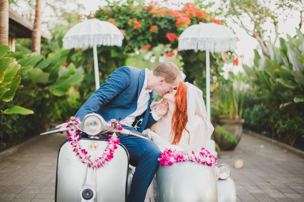 Tylea & Stephen - Bali Wedding at The Sanctus 76