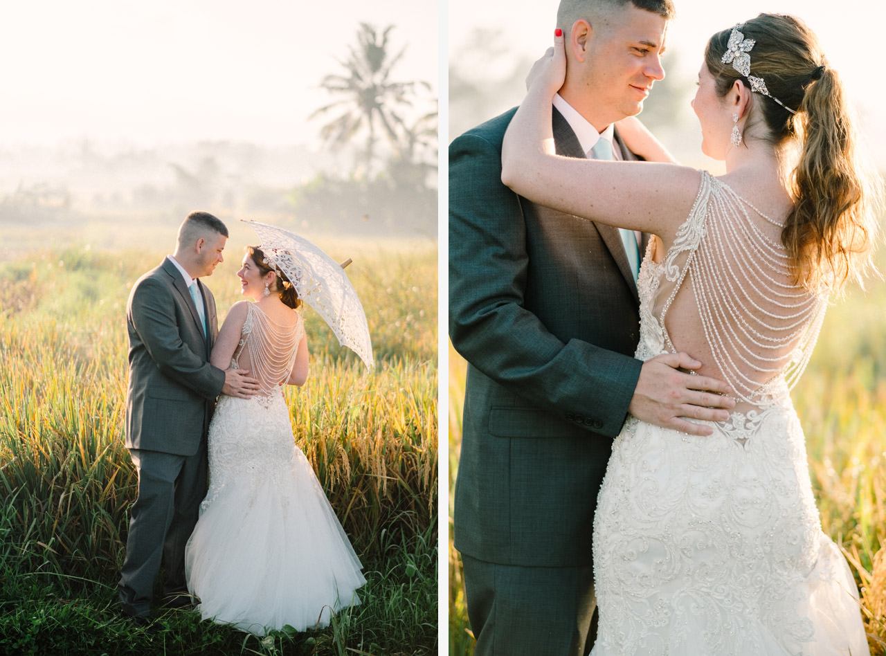 Tonya and Travis: An Enchanting Post Wedding Session in Ubud Bali 1