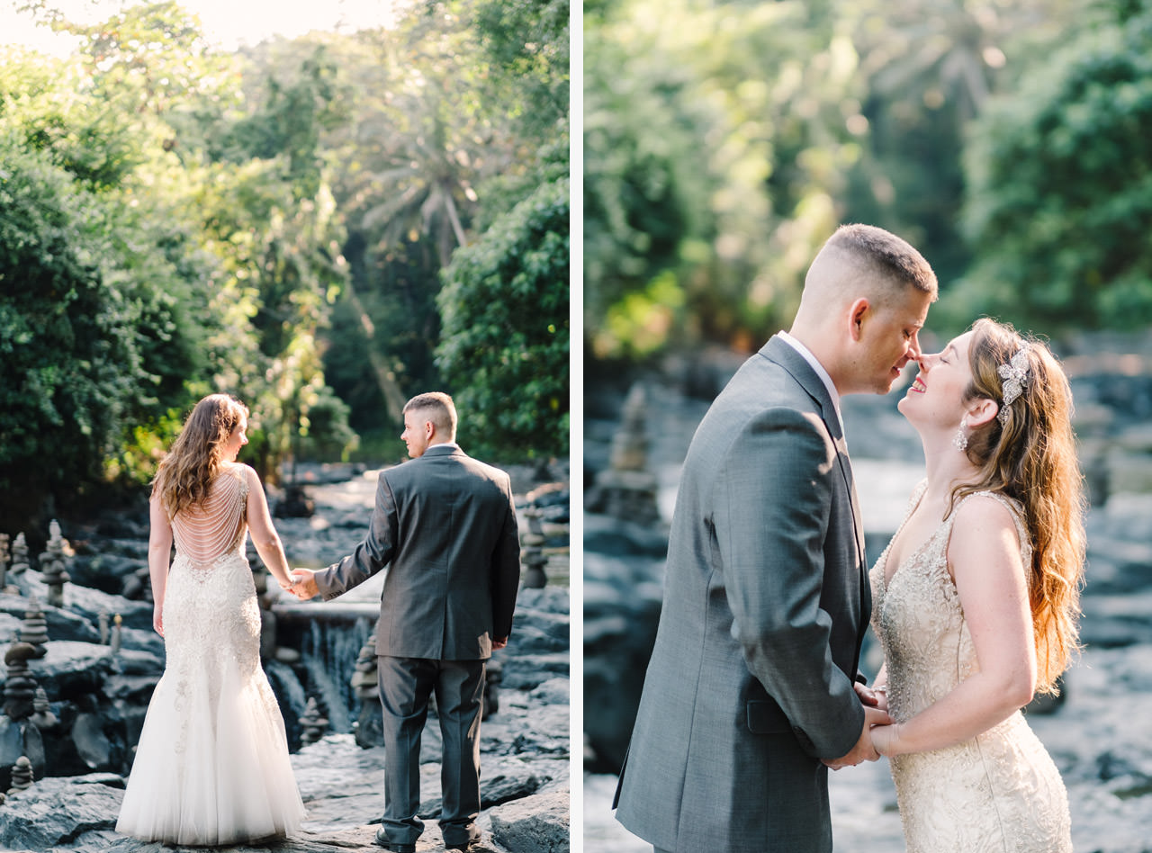 Tonya and Travis: An Enchanting Post Wedding Session in Ubud Bali 9