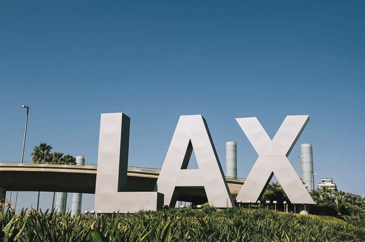 North America Trip 2015 - Los Angeles LAX
