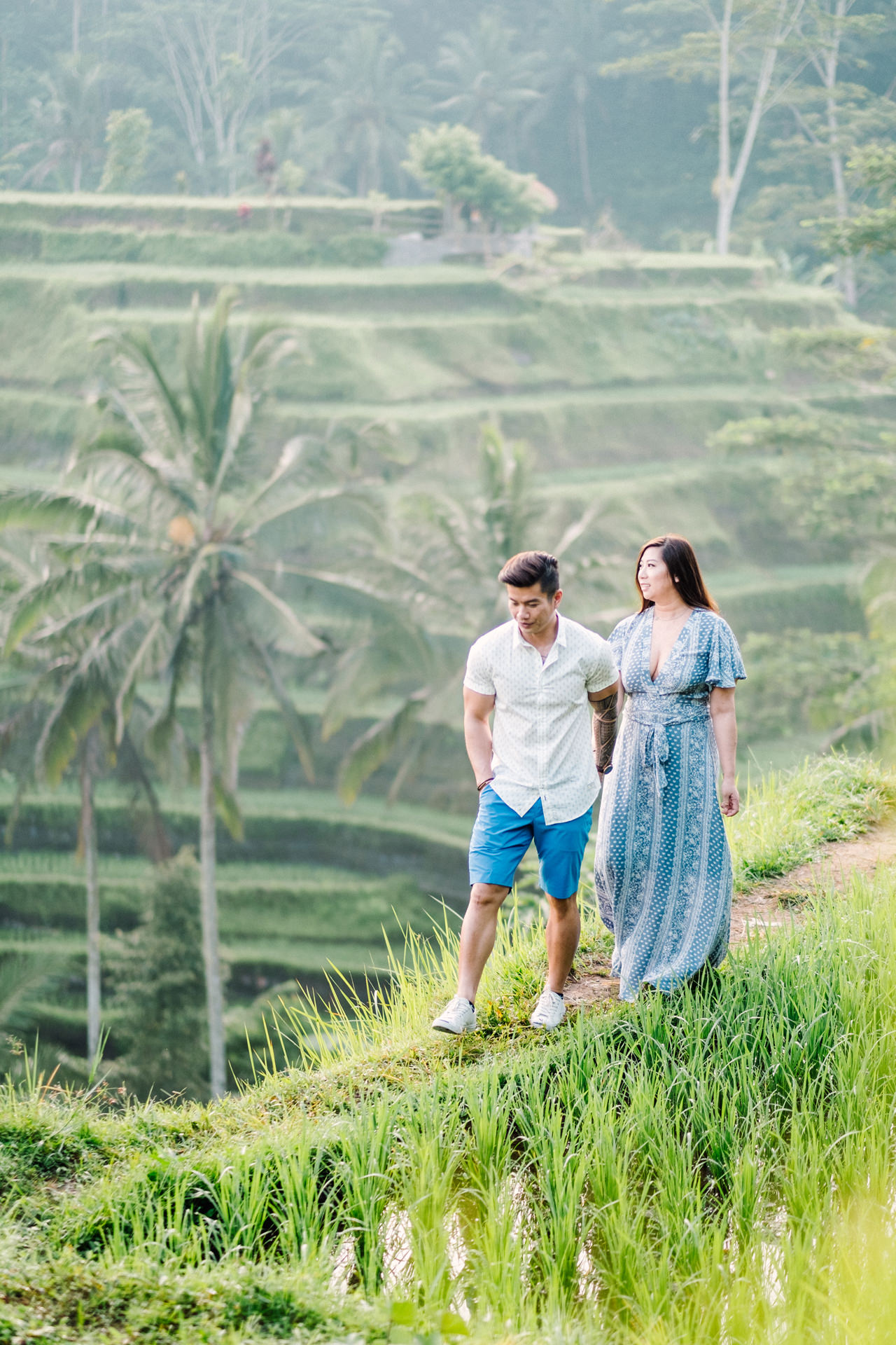 V&T: Romantic Ubud Getaway Couple Photography 1