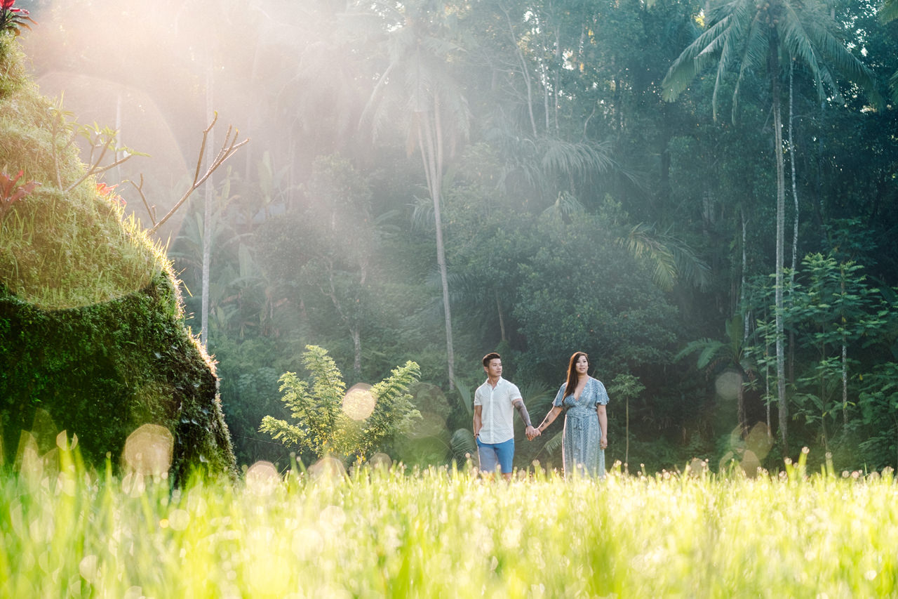V&T: Romantic Ubud Getaway Couple Photography 4