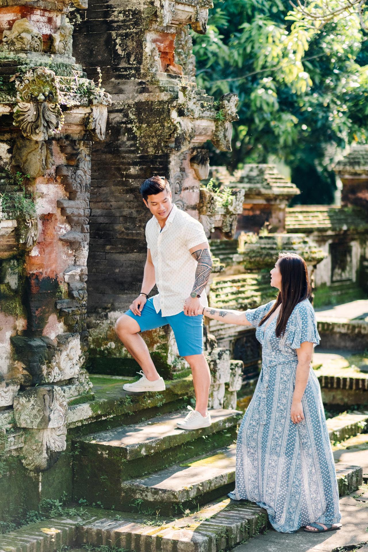 V&T: Romantic Ubud Getaway Couple Photography 7