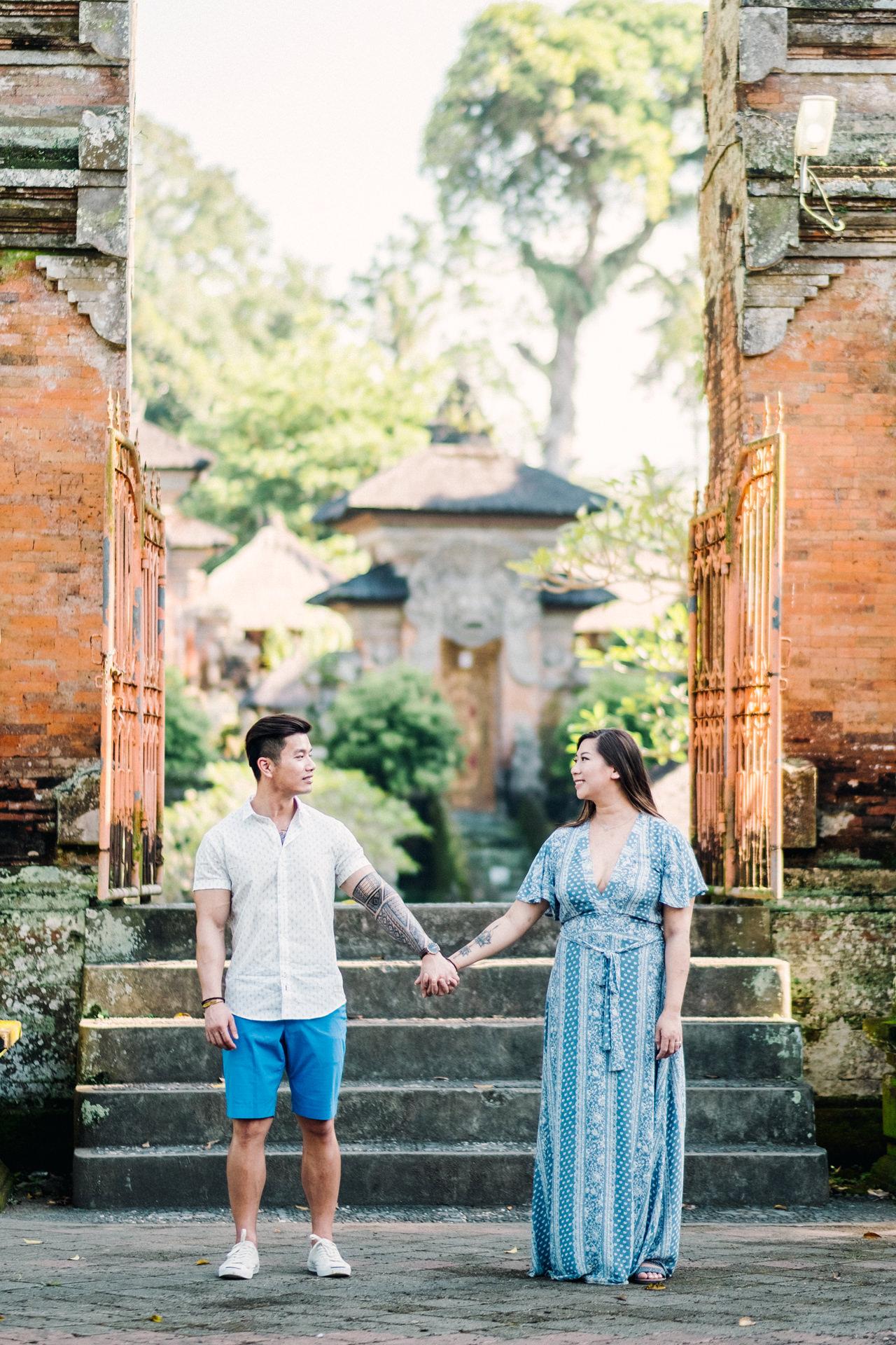 V&T: Romantic Ubud Getaway Couple Photography 9