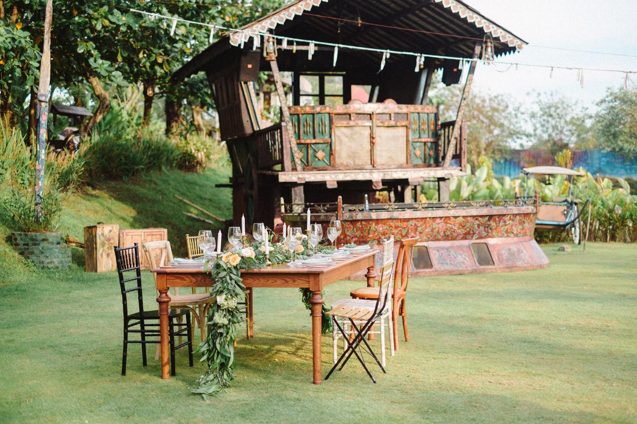 La Laguna Bali Bohemian Chic Wedding 13