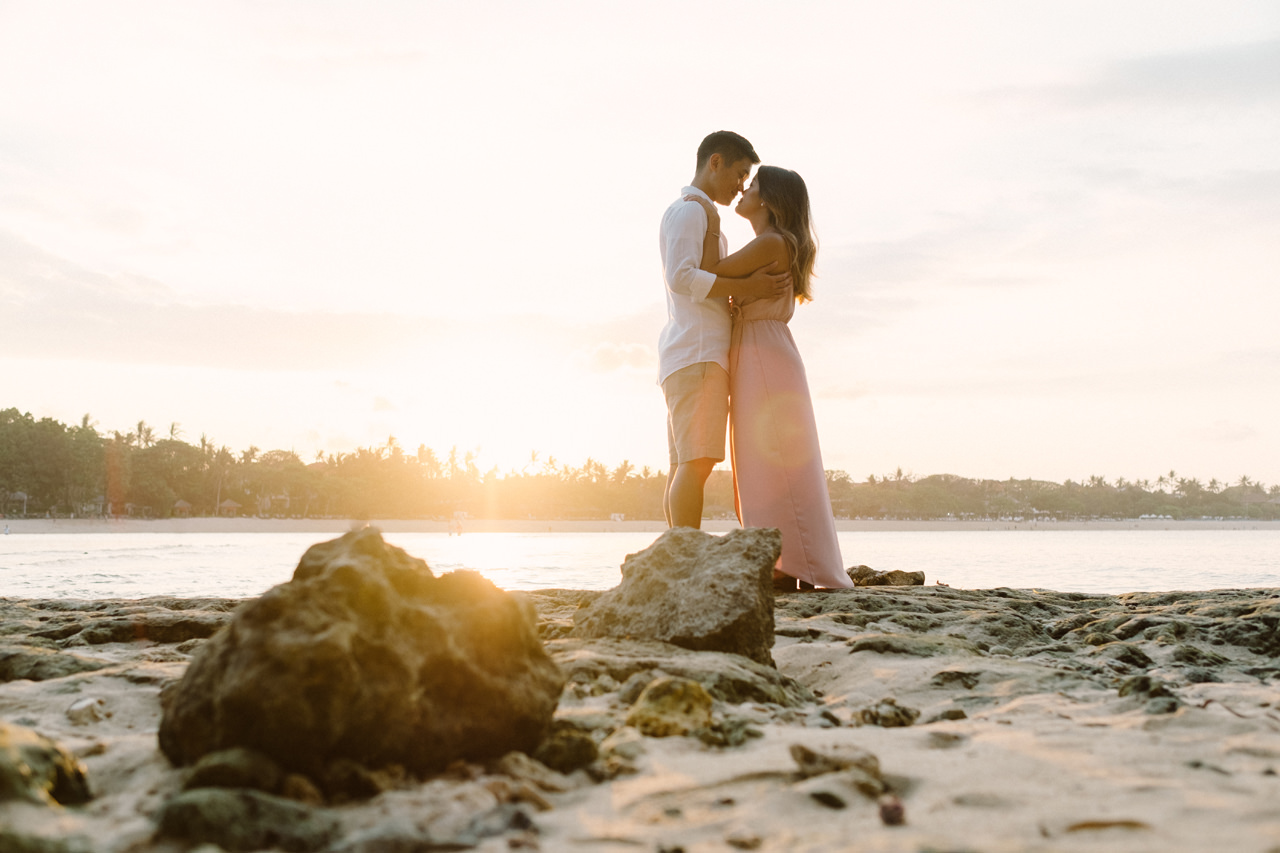 W&D: Nusa Dua Beach Honeymoon Photography 10