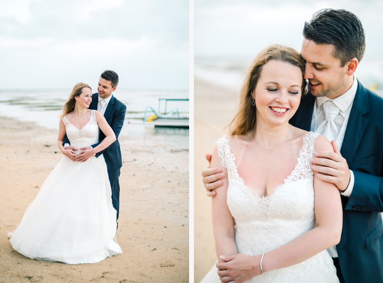 W&I: Sanur Beach Honeymoon Photo Session 2