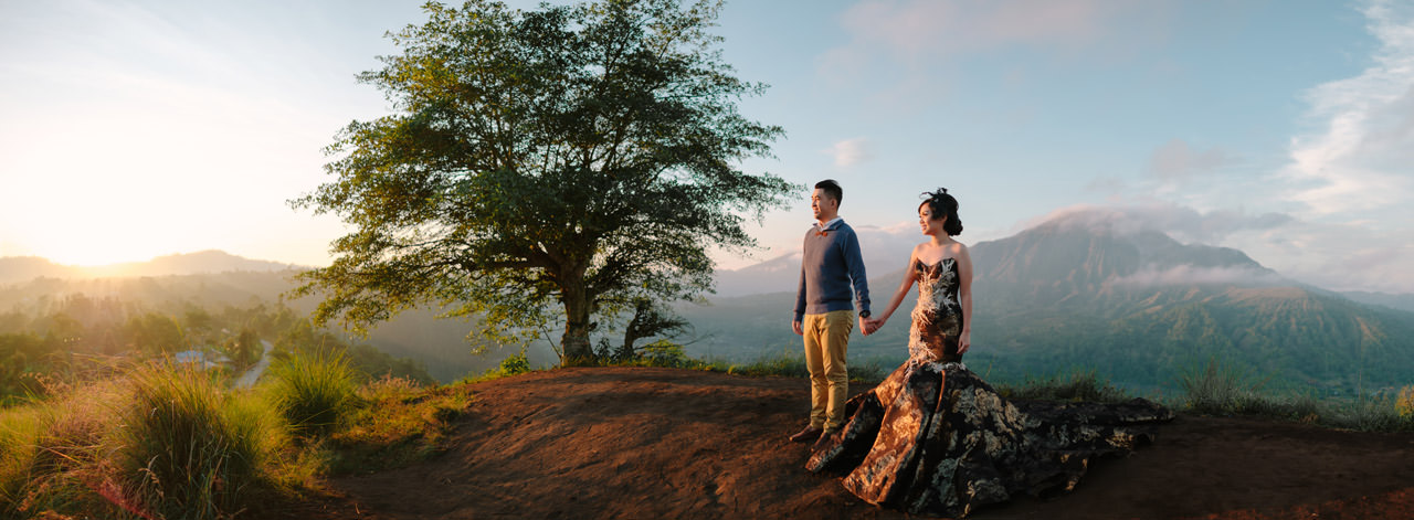 Willyam & Tania: Bali Outdoor Prewedding Photography 1