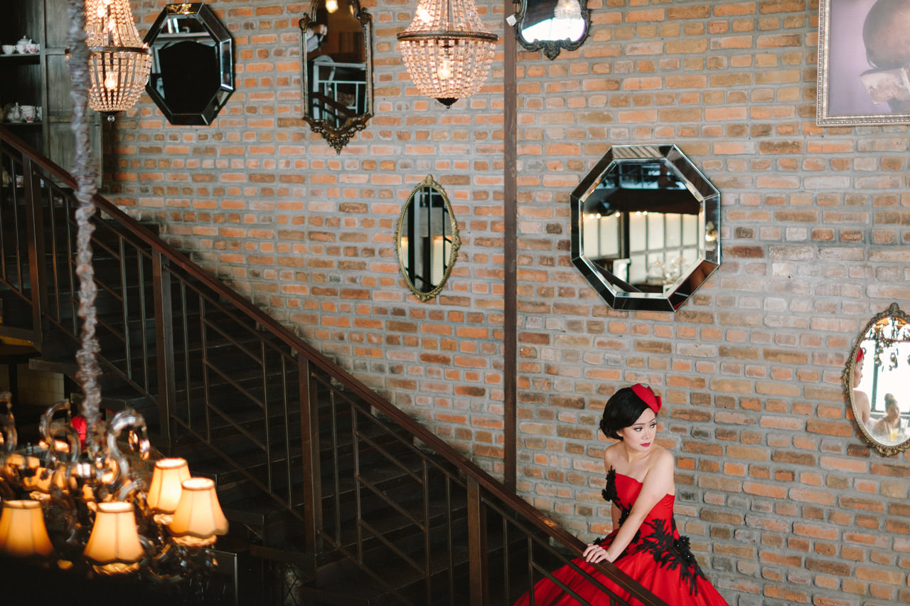 Willyam & Tania: Glamour Prewedding Photography at The Bistrot Bali 1