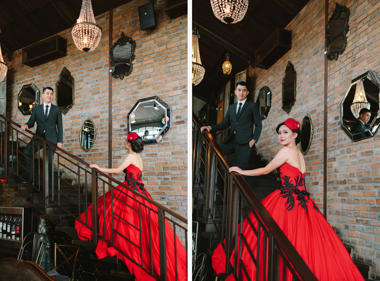 Willyam & Tania: Glamour Prewedding Photography at The Bistrot Bali 3