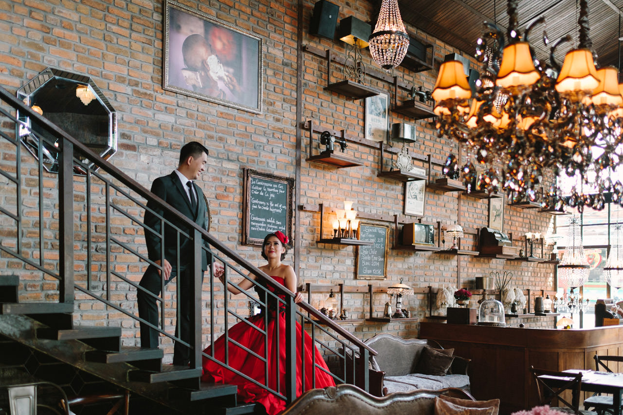 Willyam & Tania: Glamour Prewedding Photography at The Bistrot Bali 4