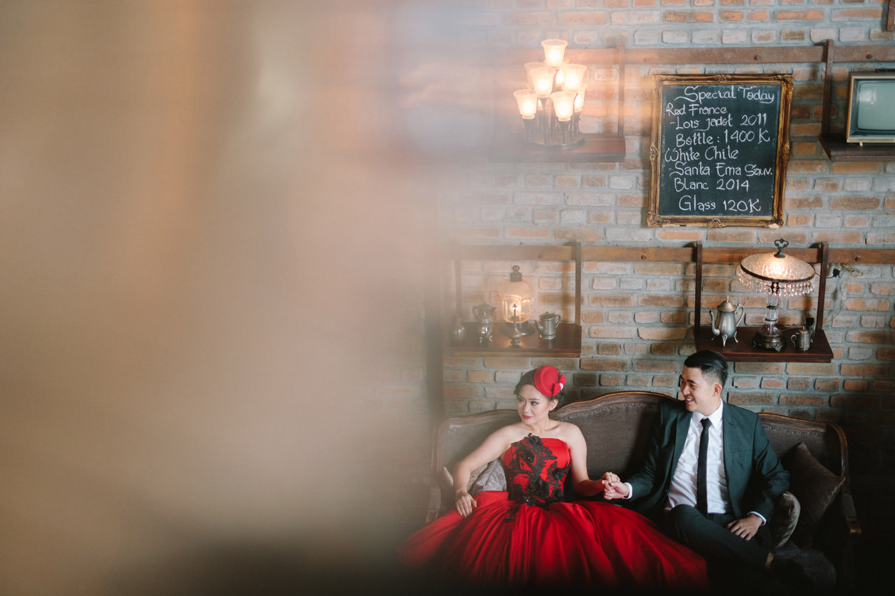 Willyam & Tania: Glamour Prewedding Photography at The Bistrot Bali 8