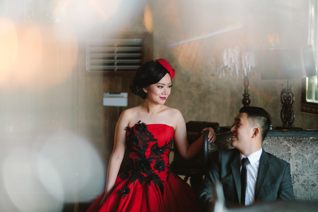 Willyam & Tania: Glamour Prewedding Photography at The Bistrot Bali 10