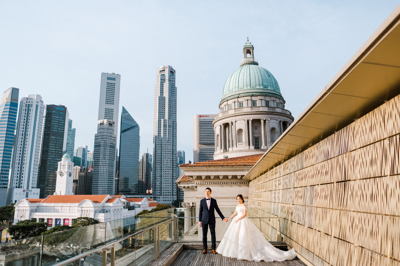 Y&D: National Museum of Singapore Prewedding 1
