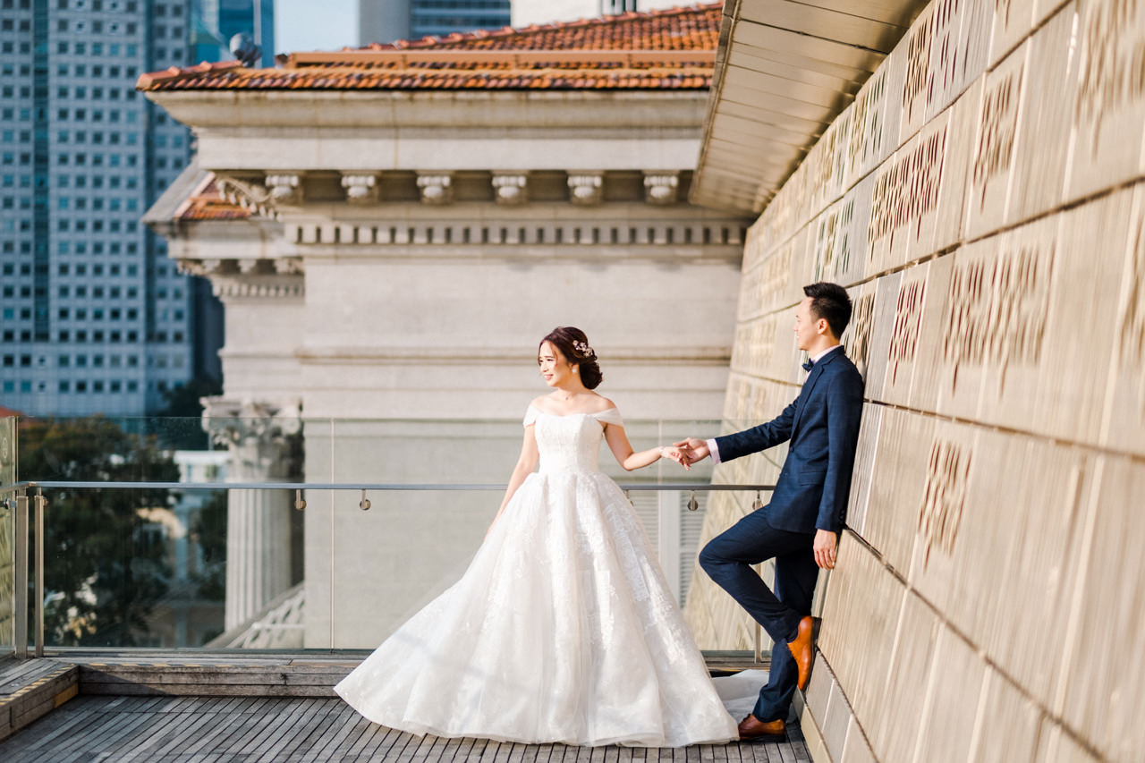 Y&D: National Museum of Singapore Prewedding 3