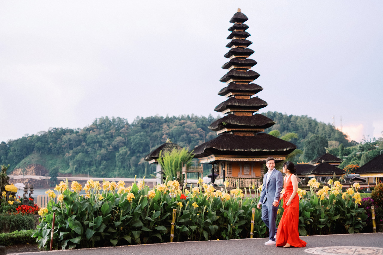 Lake Beratan Temple Pre-Wedding 3