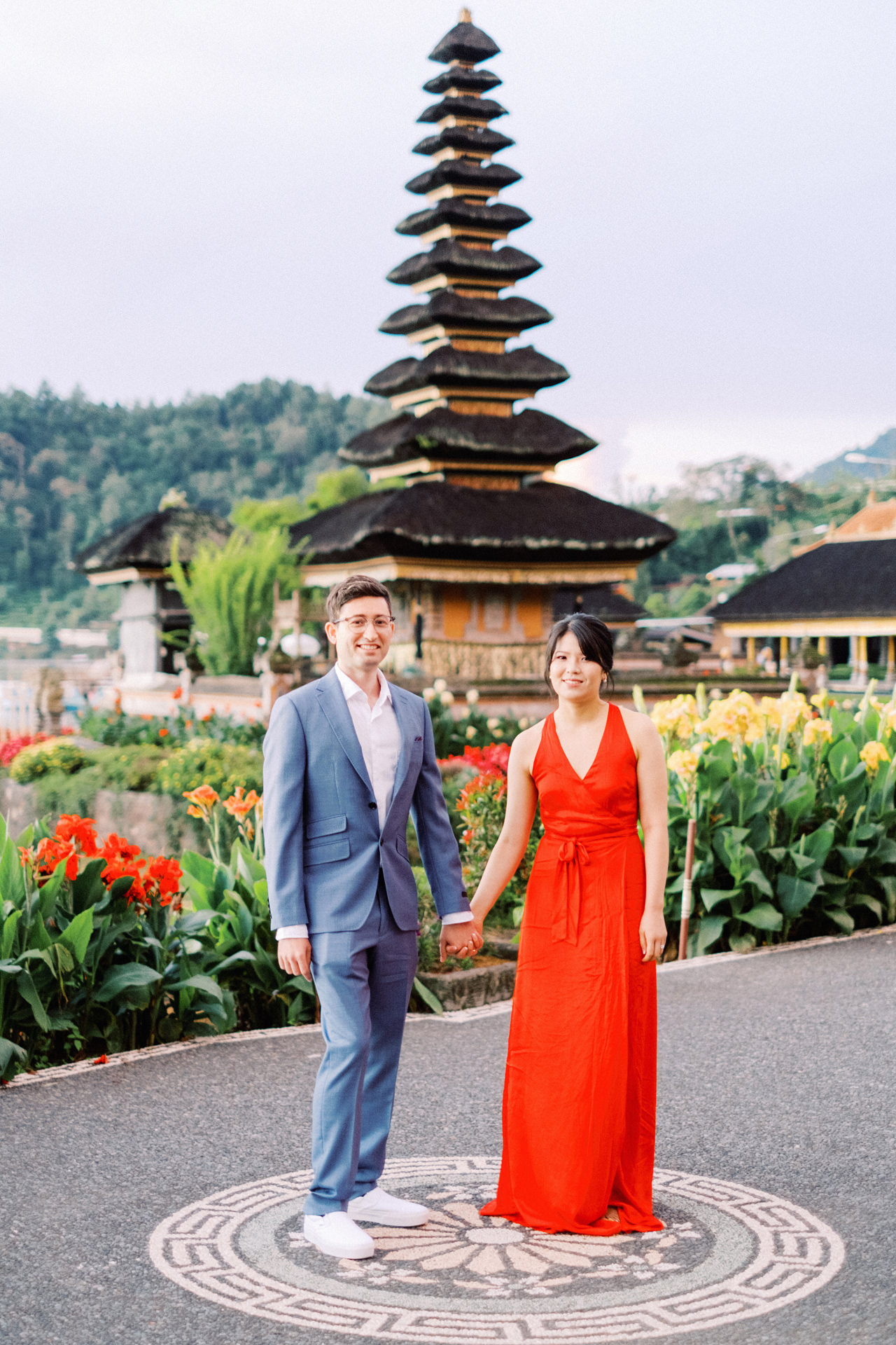 Y&M: Lake Beratan Temple Pre-Wedding 4