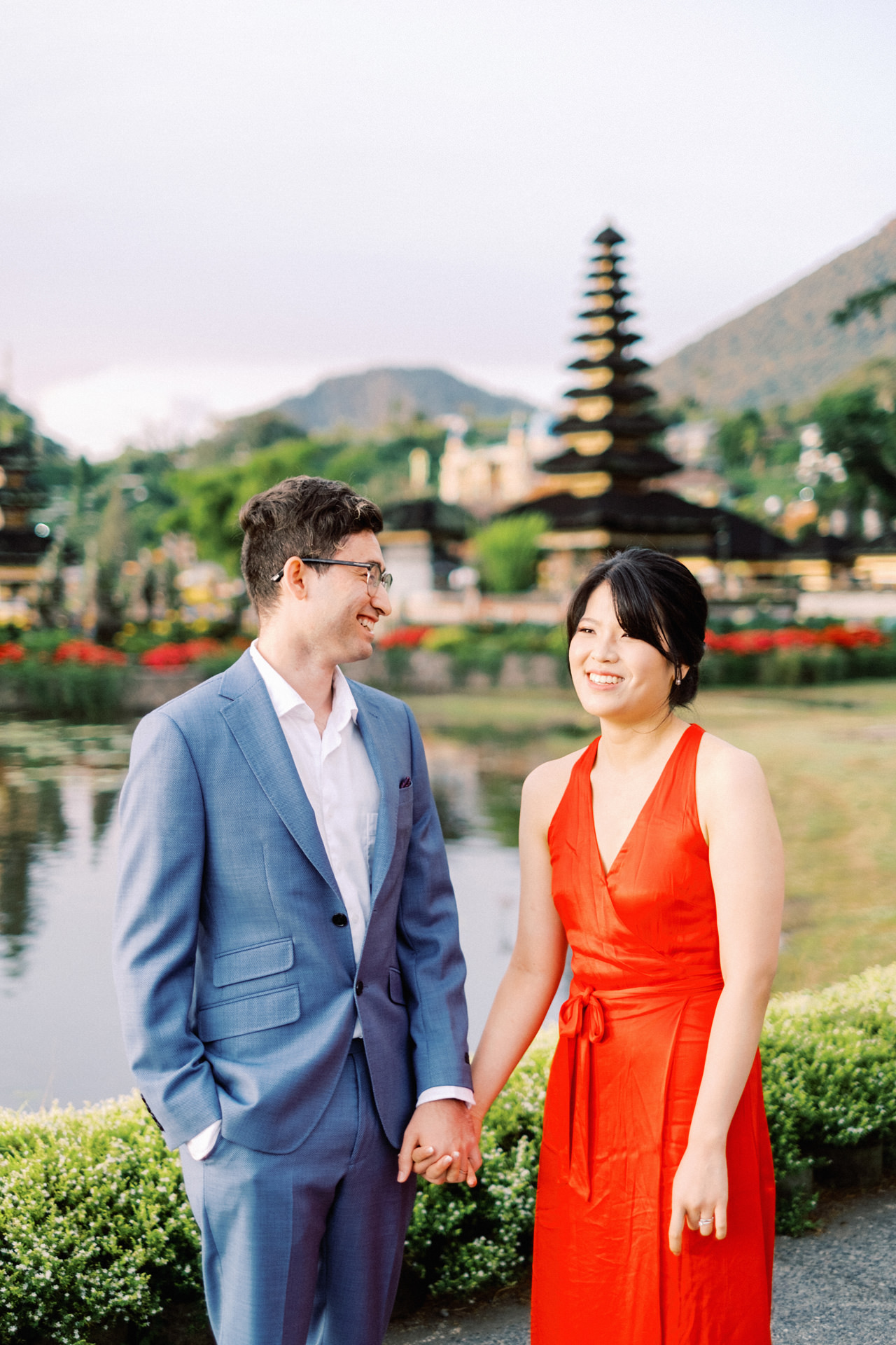 Y&M: Lake Beratan Temple Pre-Wedding 5