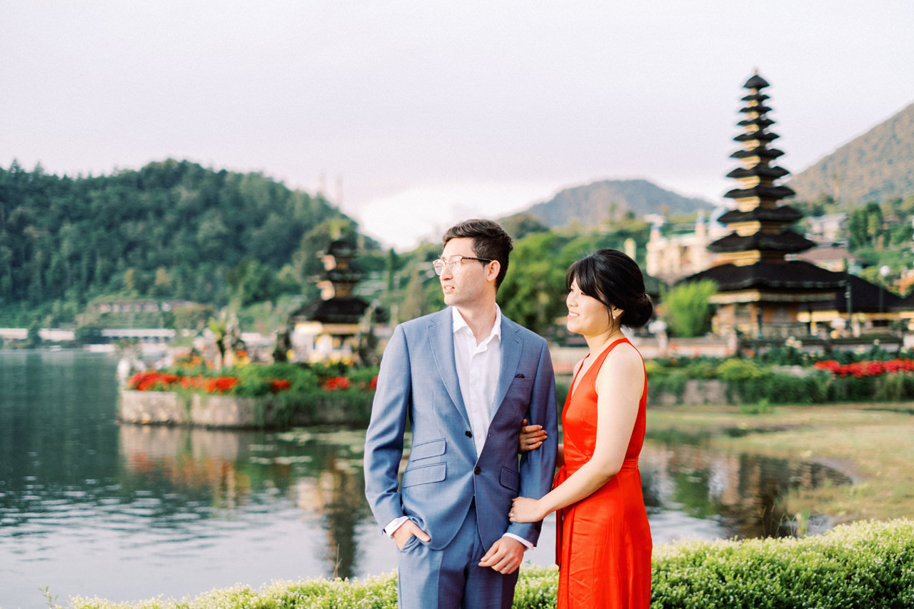 Y&M: Lake Beratan Temple Pre-Wedding 6
