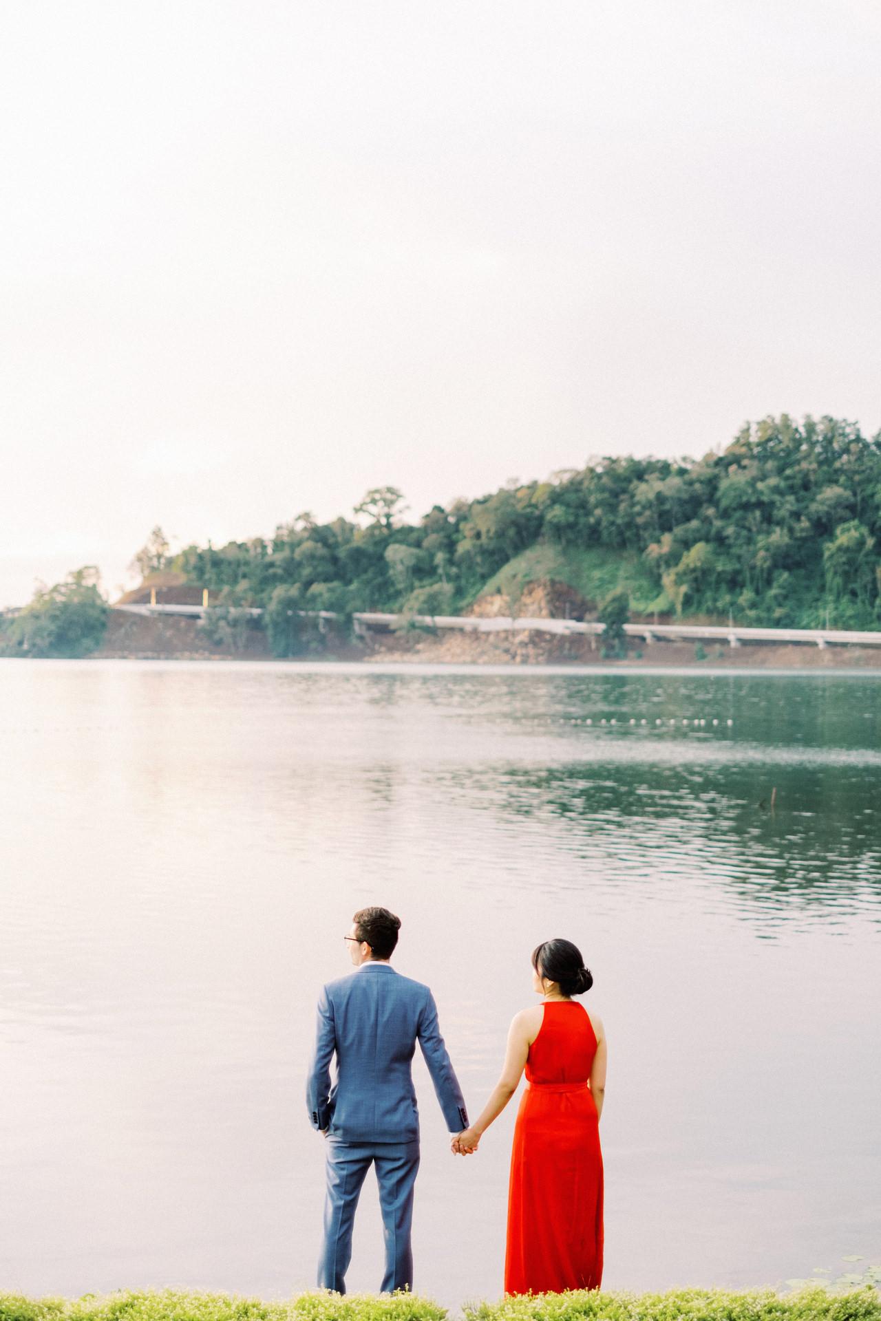"""Y&M: Lake Beratan Temple Pre-Wedding 7"""" width="""